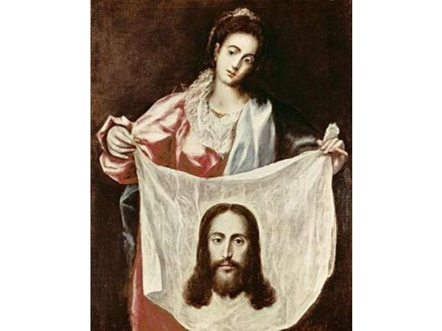 Veronica and The Holy Veil Poster Print by  El Greco (22 x 28)
