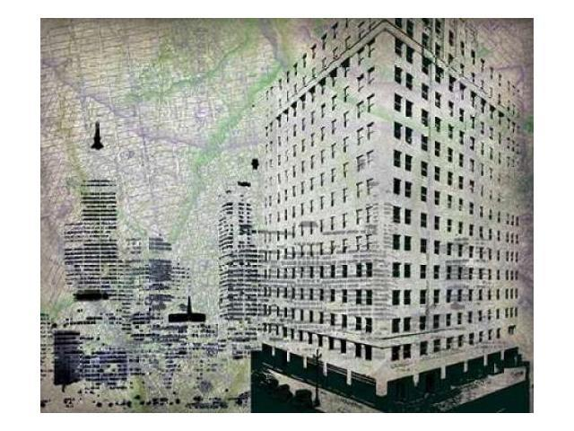 Cityscape II Poster Print by Art Roberts (8 x 10)