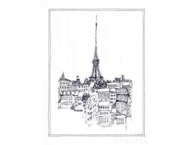 Eiffel Tower Poster Print by Avery Tillmon (22 x 28)