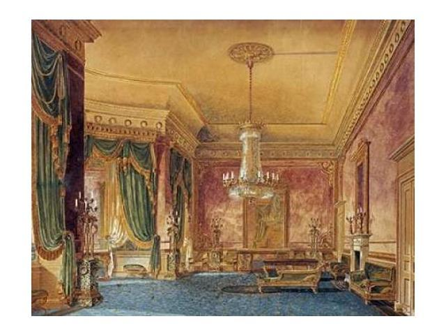 A Regency Interior Poster Print by  Robert Hughes  (11 x 14)