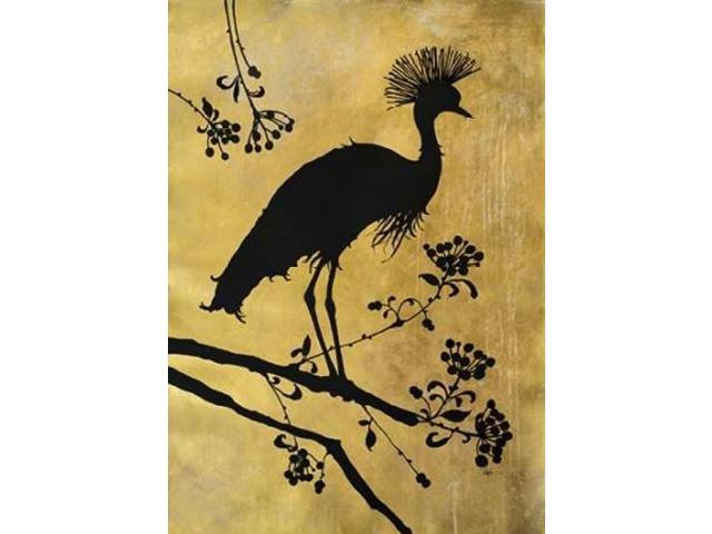 Golden Crowned Crane Poster Print by Filippo Ioco (20 x 28)