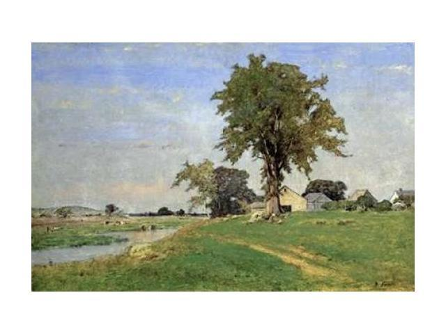 Old Elm at Medfield Poster Print by George Inness (24 x 36)