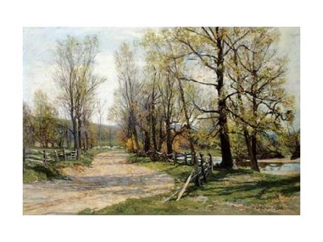 The Country Lane Poster Print by Hugh Bolton Jones (24 x 36)
