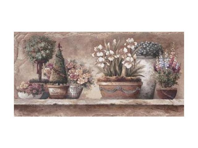 Antique Blooms Poster Print by James Lee (24 x 48)