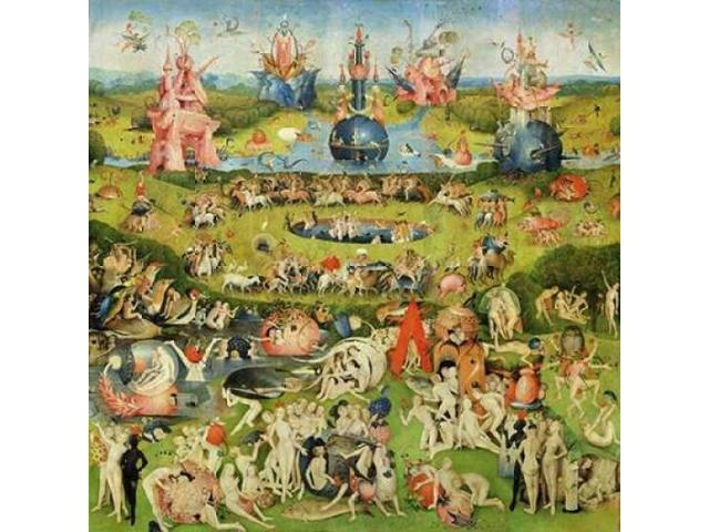 The Garden of Earthly Delights II Poster Print by Hieronymus Bosch (24 x 24)