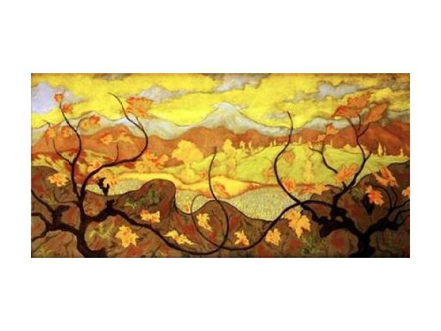 The Vines Poster Print by Paul Ranson (24 x 48)