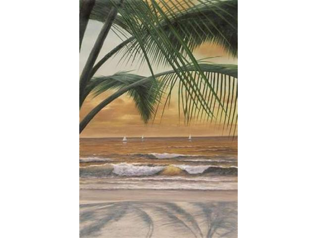 Paradiso Sunset Poster Print by Diane Romanello (24 x 36)