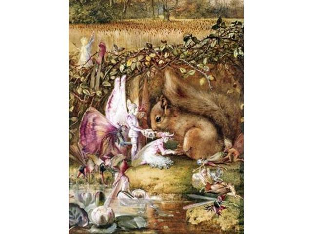The Wounded Squirrel Poster Print by John Anster Fitzgerald (22 x 28)