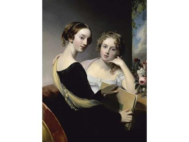 Portrait of the McEven Sisters Poster Print by  Thomas Sully  (9 x 12)