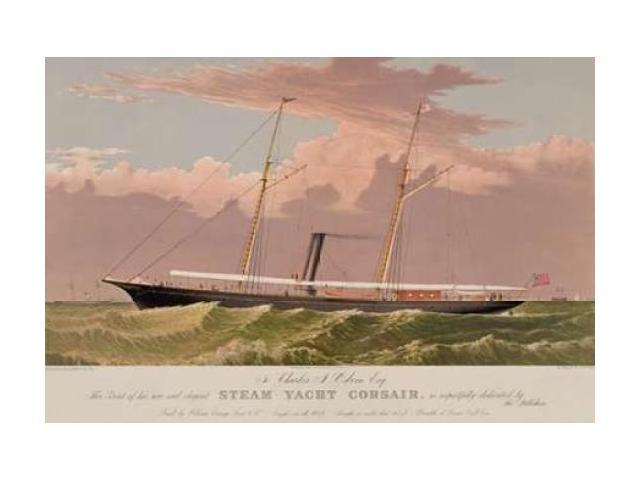 Steam yacht Corsair 1881 Poster Print by  Unknown (24 x 36)
