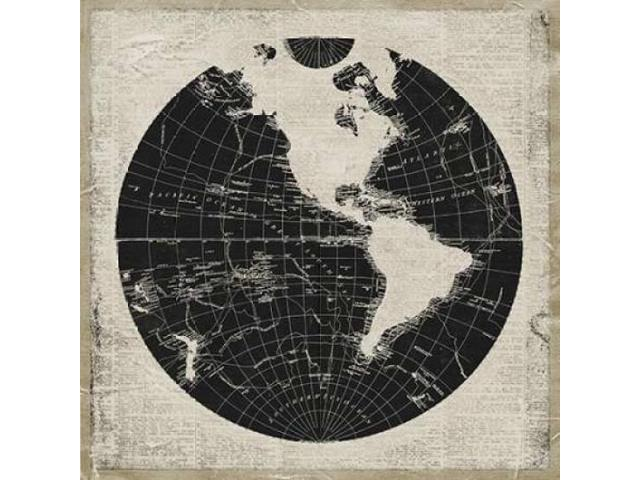 World News I Poster Print by Elizabeth Medley (24 x 24)