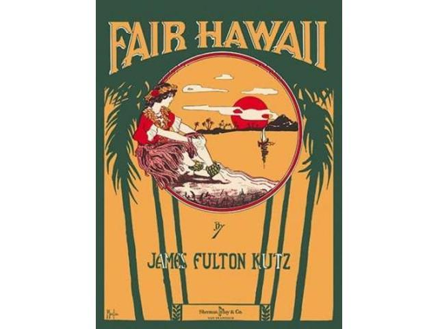 Fair Hawaii Poster Print by  Morgan (22 x 28)