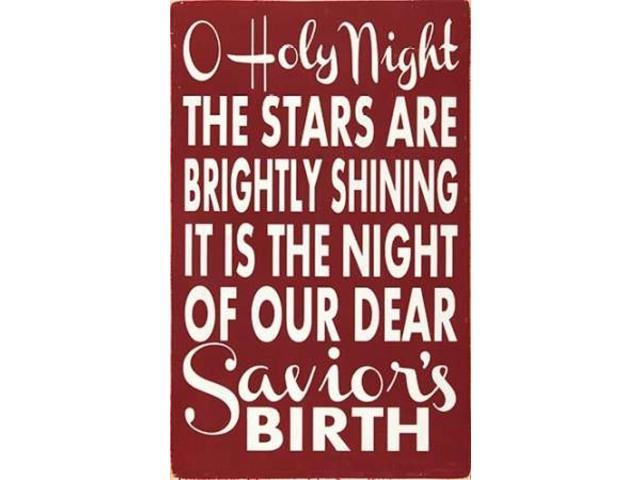 Oh Holy Night Poster Print by Erin Deranja (24 x 36)