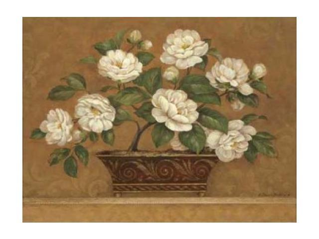 Camellia Tapestry Poster Print by Pamela Gladding (18 x 24)