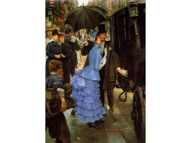 Bridemaid Poster Print by James Jacques Tissot (20 x 28)