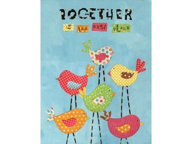 Together Poster Print by Alli Rogosich (22 x 28)