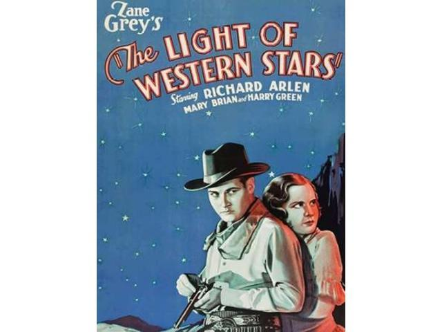 Vintage Westerns: Light of the Western Stars Poster Print by  Unknown (18 x 24)