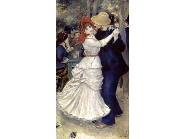 Dance at Bougival Poster Print by  Pierre-Auguste Renoir  (12 x 18)