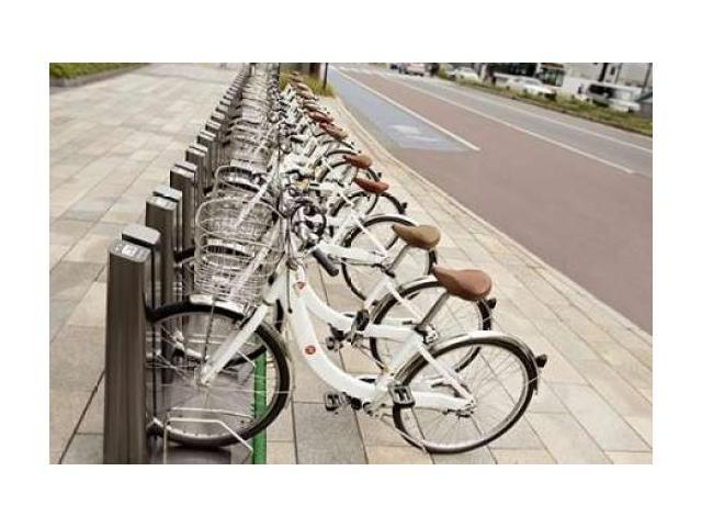Japan Bicycle - 7 Poster Print by Alan Blaustein (12 x 18)