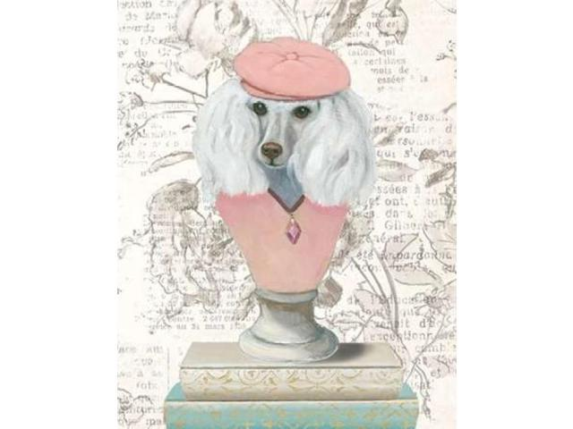 Canine Couture Newsprint IV Poster Print by Emily Adams (22 x 28)