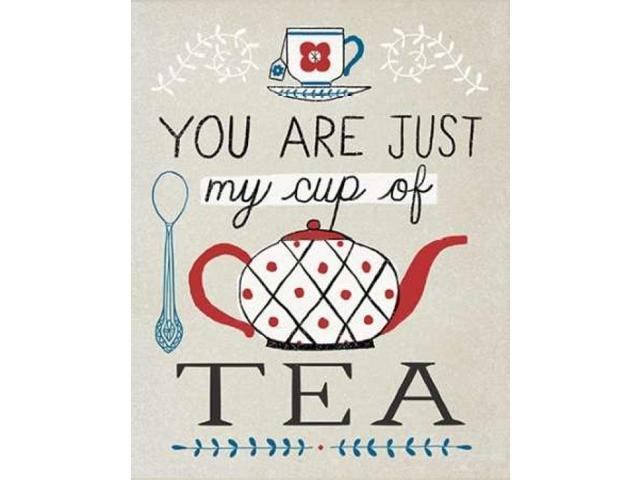 Cup of Tea Poster Print by Oliver Towne (22 x 28)