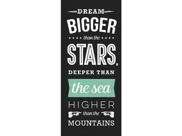 The Sea Poster Print by Aubree Perrenoud (10 x 20)