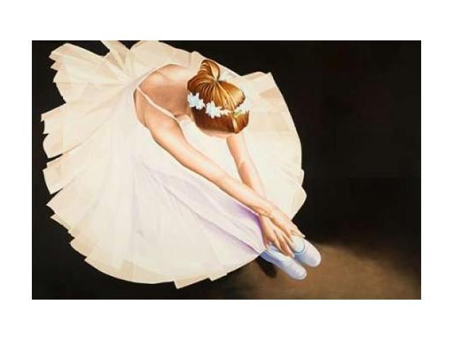 The Ballerina Poster Print by Karl Black (12 x 18)