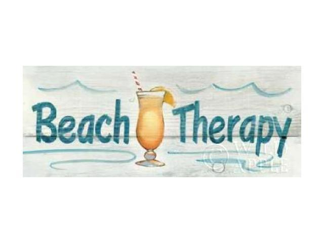 Beach Therapy - In Color Poster Print by Avery Tillmon (24 x 48)