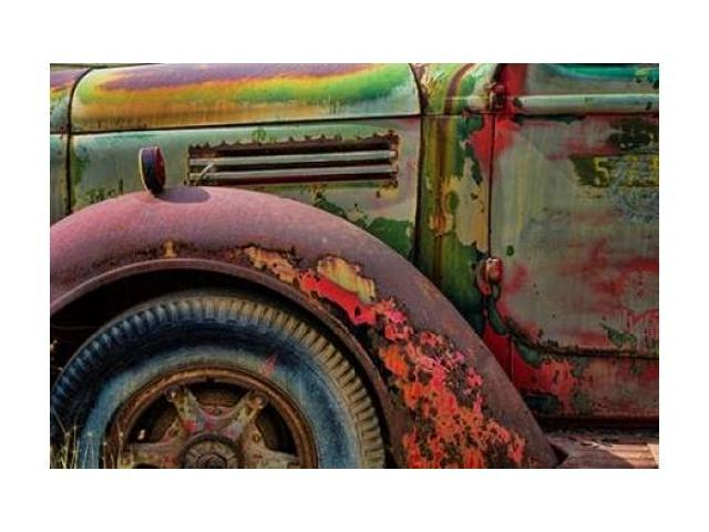 Old Truck III Poster Print by Kathy Mahan (12 x 18)