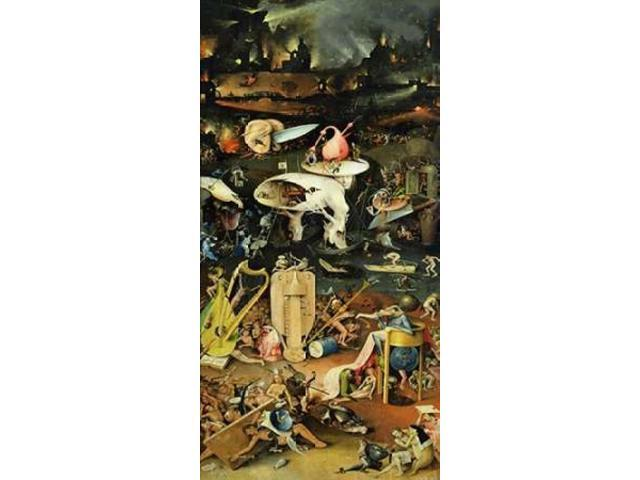 The Garden of Earthly Delights III Poster Print by Hieronymus Bosch (24 x 48)