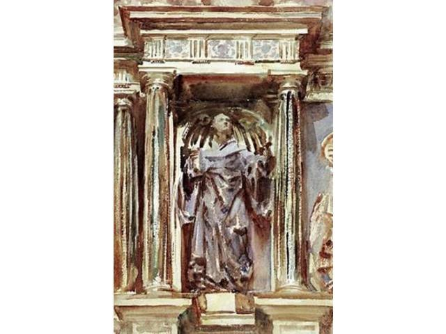 In a Church at Granada Poster Print by John Singer Sargent (24 x 36)