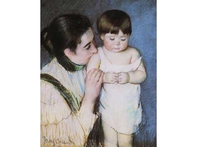 Young Thomas And His Mother 1893 Poster Print by Mary Cassatt (24 x 30)