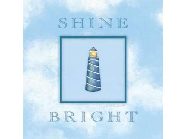 Shine Bright Poster Print by Stephanie Marrott (24 x 24)