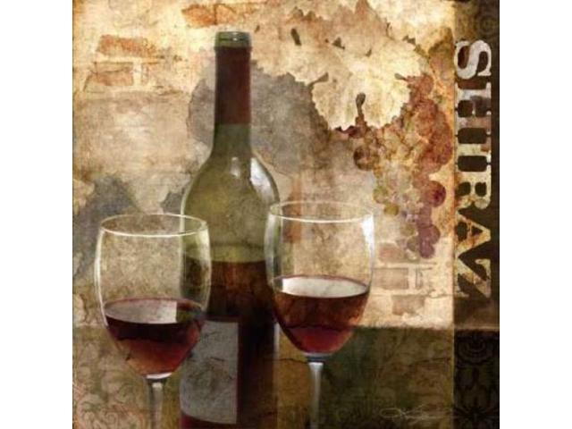 Shiraz Poster Print by Keith Mallett (24 x 24)