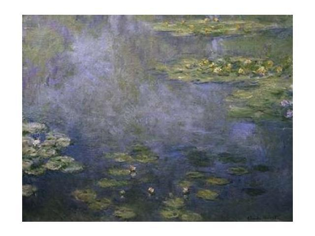 Water Lilies - Nympheas IV Poster Print by  Claude Monet  (9 x 12)