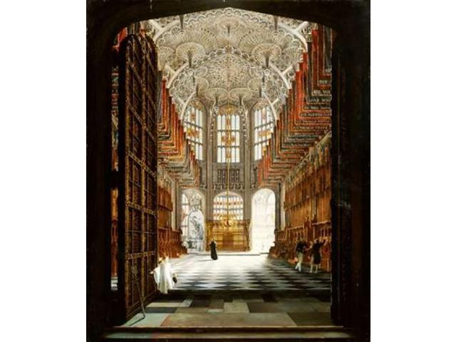 A View of The Interior of Henry VIIs Chapel Westminster Abbey Poster Print by  John Harwood  (10 x 12)