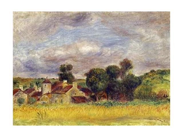 Brittany Countryside Poster Print by Pierre-Auguste Renoir (20 x 28)