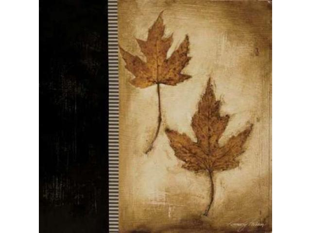 Maple Leaves II Poster Print by Kimberly Poloson (12 x 12)