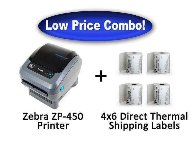 Zebra ZP-450 High Speed Direct Thermal Label Printer ...