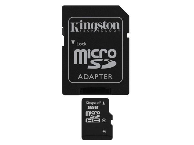 Etekcity® Kingston 8GB 8G microSDHC Class Secure microSD 4 Flash Memory Card US Seller