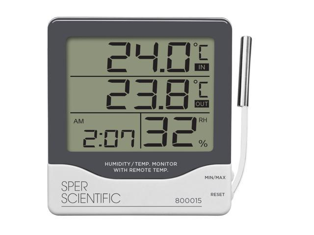 Digital Thermometer - Indoor / Outdoor - Large Display