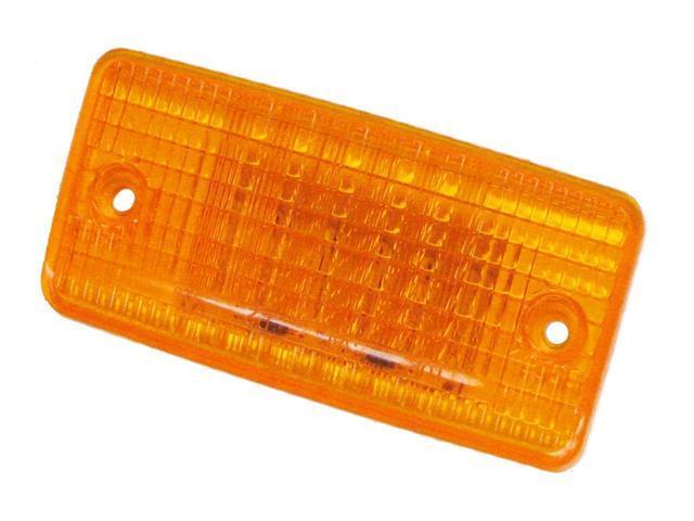 Amber LED Cab Marker Flush Mount Clearance Light NEW