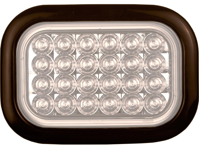 "4"" X 6"" Rectangular LED Truck Trailer Backup Light"