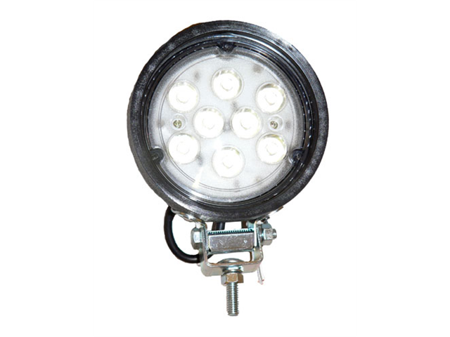 One LED Work Light, 8 Diode 4411 Tractor Light Spot Beam PAR 36