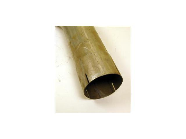"""4"""" ID / OD 90 Degree Exhaust Elbow Pipe with 18"""" Arms Aluminized"""