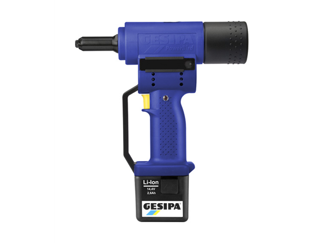 One Gesipa Powerbird 12V Cordless Rechargeable Riveting Tool