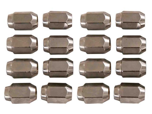 16 Pack of Chrome Lug Nuts 1/2-20 Size Club Car & EZGO Golf Carts