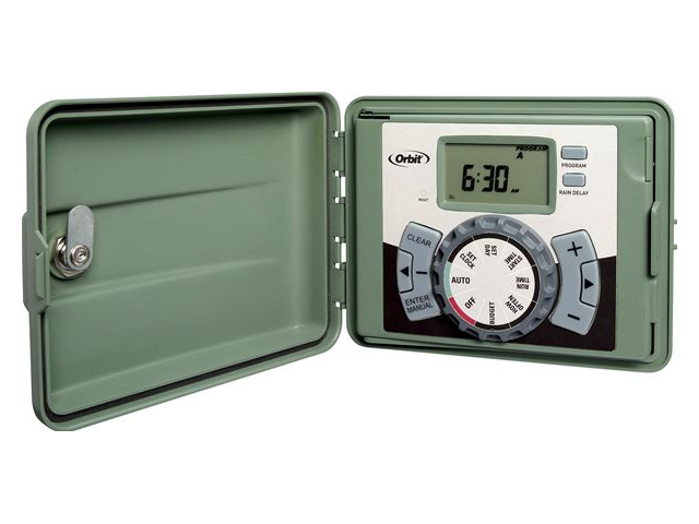 Orbit Irrigation Controller - 6 Station indoor & Outdoor Water Timer - 57896