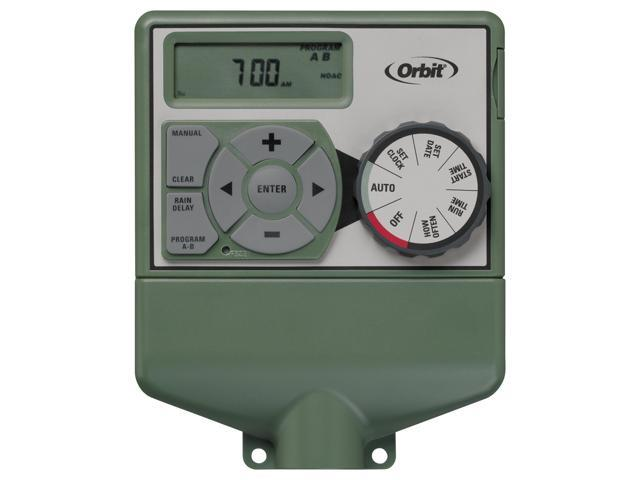 Orbit 6 Station & Zone indoor Sprinkler System Controller, Water Timer - 57876