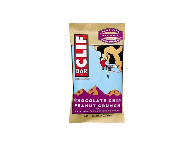 Chocolate Chip Peanut Crunch - Box - Clif Bar - 12 - Bar